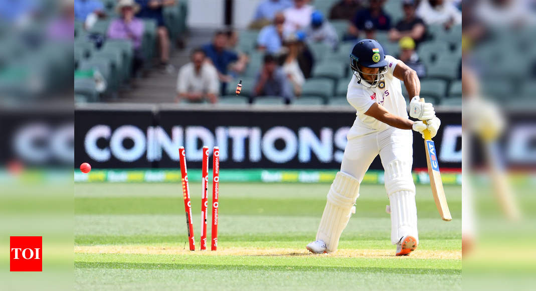 India vs Australia: Mayank Agarwal's altered stance causes run drought, may cost him spot in XI | Cricket News – Times of India