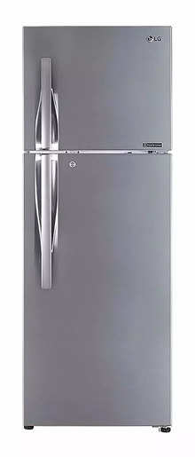 LG GL-S372RPZY 335 Litres Double Door 2 Star Refrigerator