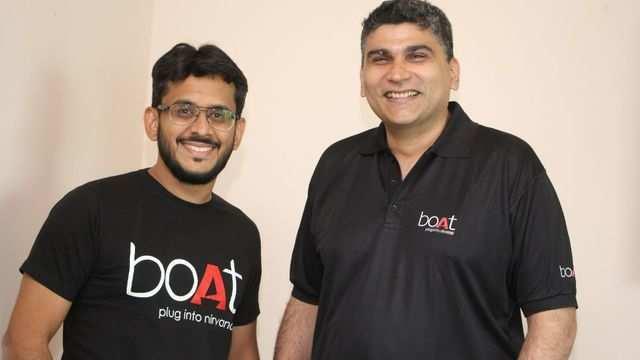 Aman Gupta and Sameer Mehta - Founders, boAt
