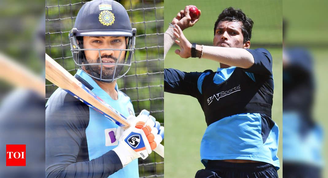 India vs Australia 3rd Test playing XI: Rohit Sharma replaces Mayank Agarwal, Navdeep Saini to make his Test debut | Cricket News - Times of India