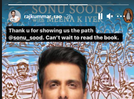 Memoir my way of capturing the experiences of common man for posterity: Sonu Sood