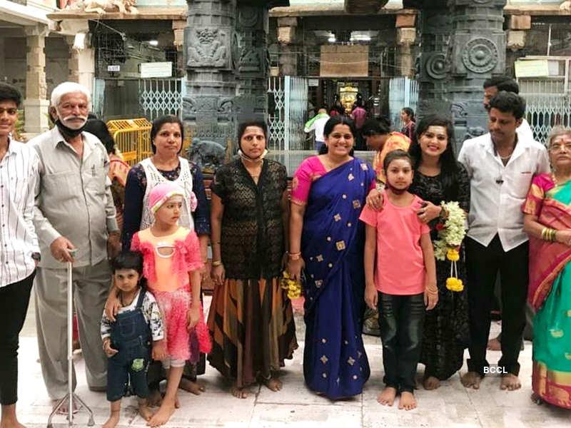 Here's how Harshala Honey's family members and team Chandralekha made the birthday girl feel special; watch (Photo - Instagram)