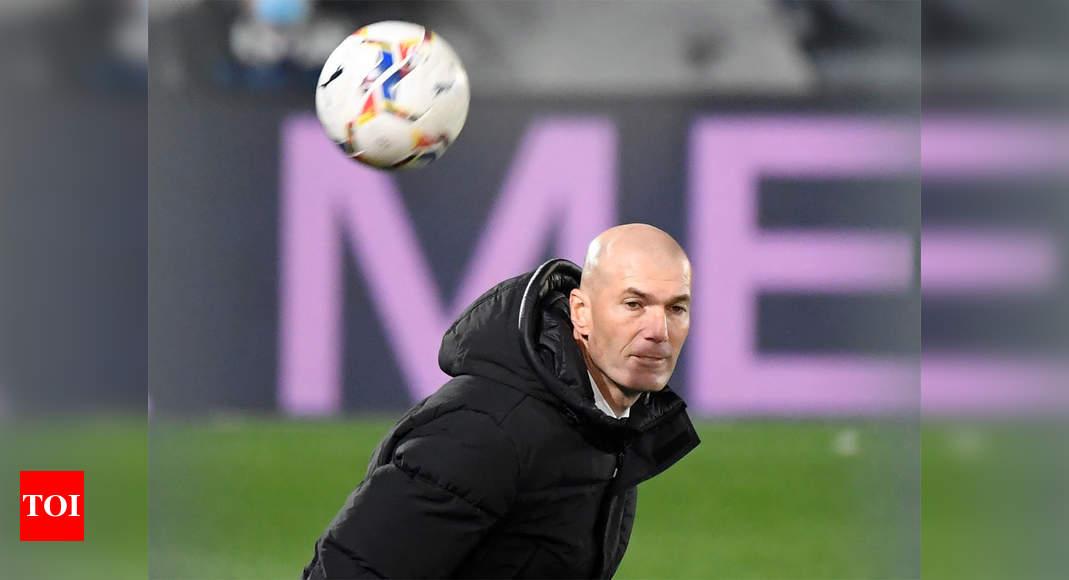Real Madrid coach Zinedine Zidane self-isolating   Football News – Times of India