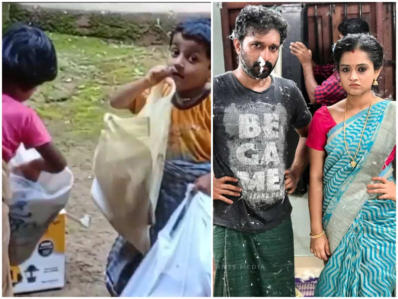 Young fans recreate a popular scene from 'Santhwanam'; impress actress Gopika Anil
