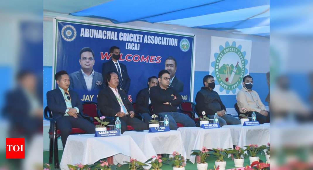 BCCI secretary Jay Shah visits Sikkim and Arunachal, assures help to northeastern states | Cricket News – Times of India
