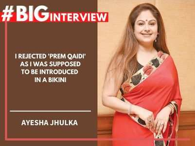 #BigInterview! Ayesha: I couldn't do 'Roja'