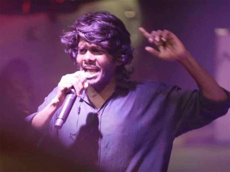 Vedan is a huge hit at Kochi Music Foundation hip hop festival