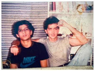 Farhan's childhood photo with buddy Hrithik