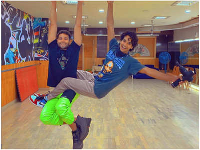 Siddhant and Ishaan prep for 'Phone Bhoot'