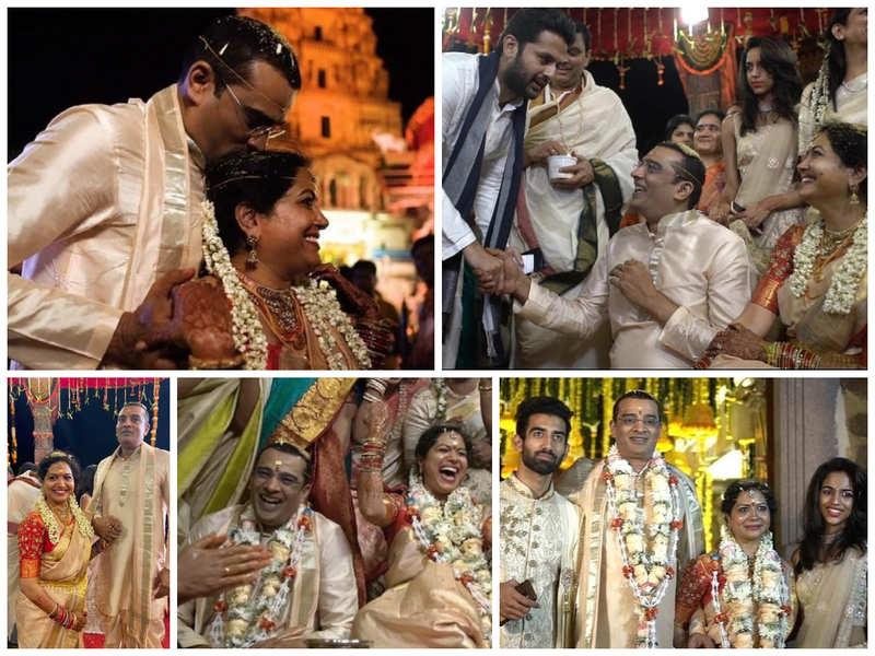 PICS: Sunitha Upadrasta ties the knot with entrepreneur Ram Veerapaneni in a traditional wedding ceremony