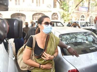 Drugs case: Komal Rampal reaches NCB office