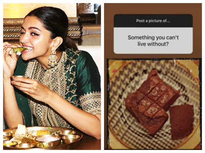 Revealed! Deepika Padukone's cheat meal and the dish she can't live without
