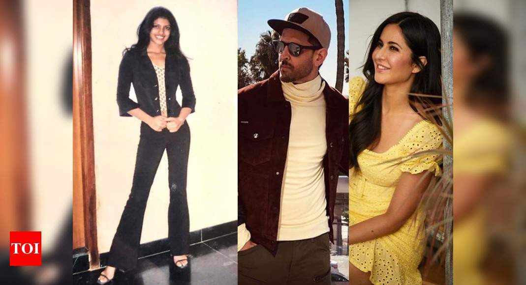 Hrithik Roshan, Katrina Kaif and others shower love as Priyanka Chopra reminisces about her 17-year-old self with a throwback picture – Times of India