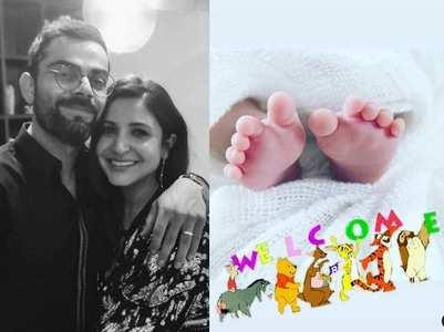 First pic Anushka-Virat's newborn baby girl
