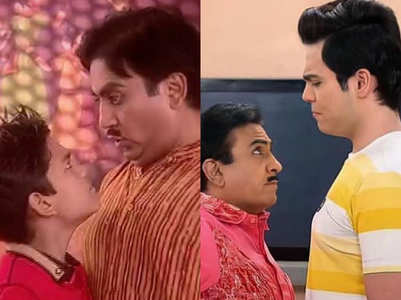 Dilip Joshi's funny meme on a reel father-son