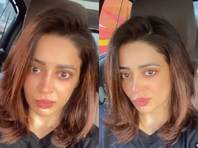 Nehha's first day on the sets of BGPH