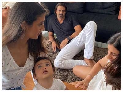 "Arjun Rampal calls son Arik ""a charmer"""