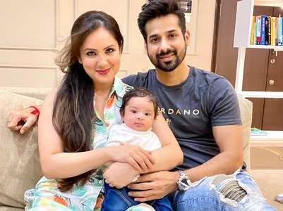 Exclusive: Puja, Kunal share pics of baby boy