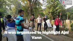 Nature lovers from Nagpur participate in Waste Walk in the city