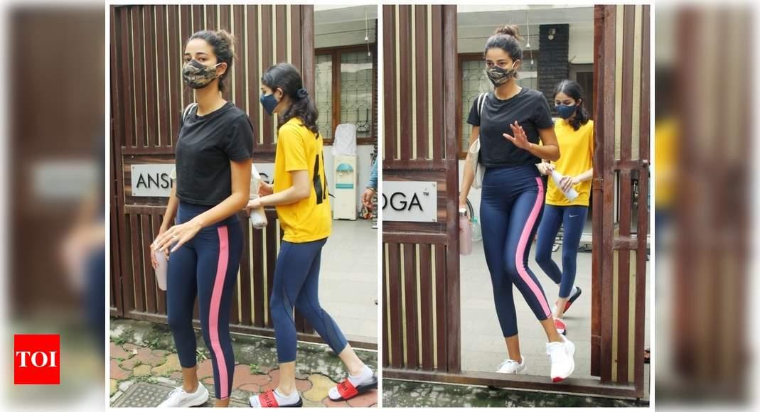 Foto: Ananya Panday dan saudari Rysa diklik di kota memposting sesi yoga mereka – ELS