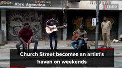 Head to Church Street over the weekend for some music, fun and games