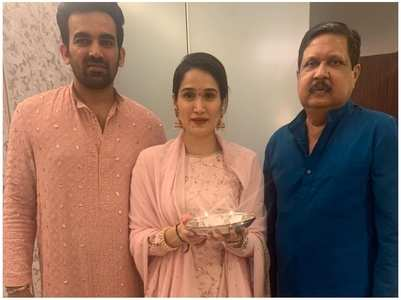 Sagarika Ghatge pens a note for late father