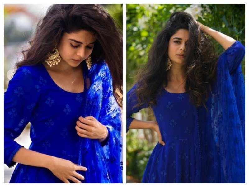 Mithila Palkar stuns in this blue ethnic dress; see pics