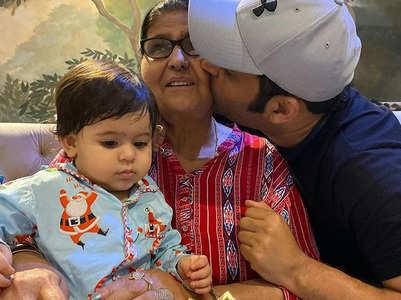 Kapil celebrates his mother's birthday; pics
