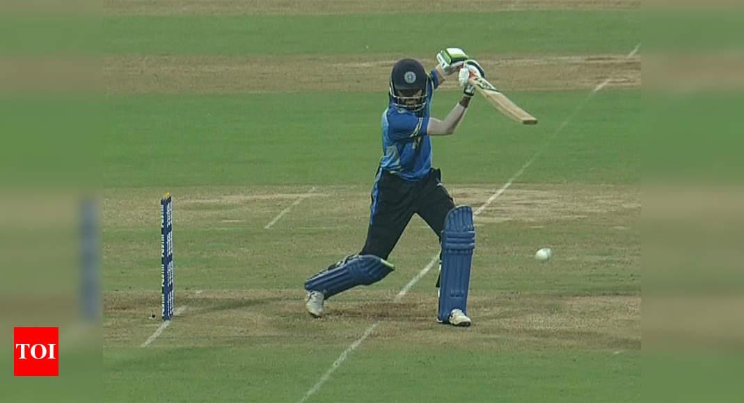 Mushtaq Ali Trophy: Azharuddeen smashes 37-ball century as Kerala beat Mumbai by 8 wickets | Cricket News – Times of India