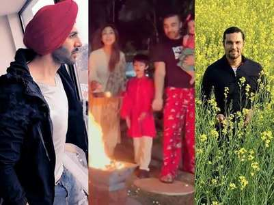 Bollywood celebs extend wishes on Lohri