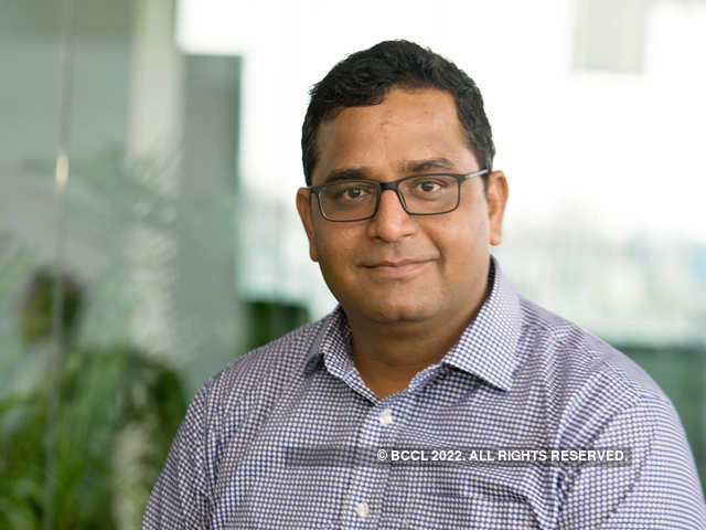 Vijay Shekhar Sharma, founder and chief executive officer of Paytm parent One97 Communications.