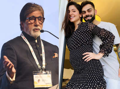 Big B connects Anushka's baby to cricket