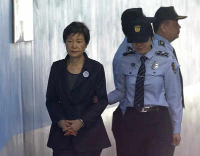 Ex-S.Korean president Park's 20-year term upheld