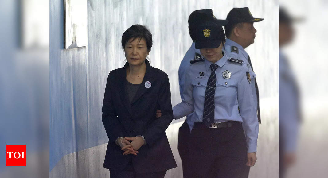south-korea-court-upholds-20-year-jail-term-for-ex-president-park-geun-hye-times-of-india