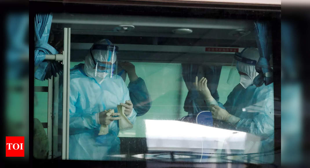 who-team-arrives-in-wuhan-as-china-reports-first-virus-death-in-months-times-of-india