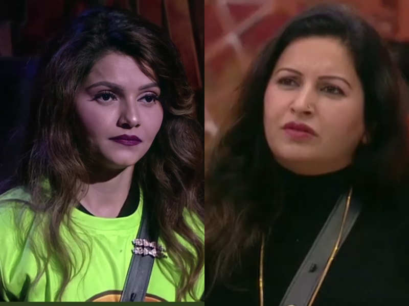 Bigg Boss 14: Fans will see a fight between Rubina Dilaik and Sonali Phogat even as Sonali's daughter was dragged into the argument.