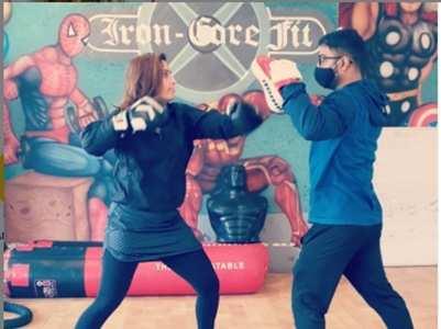 Arti Singh takes up kick boxing; watch