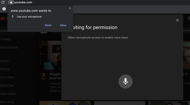 YouTube now supports voice commands to search videos