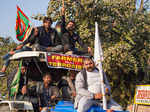 Farmer Protest At Singhu Border