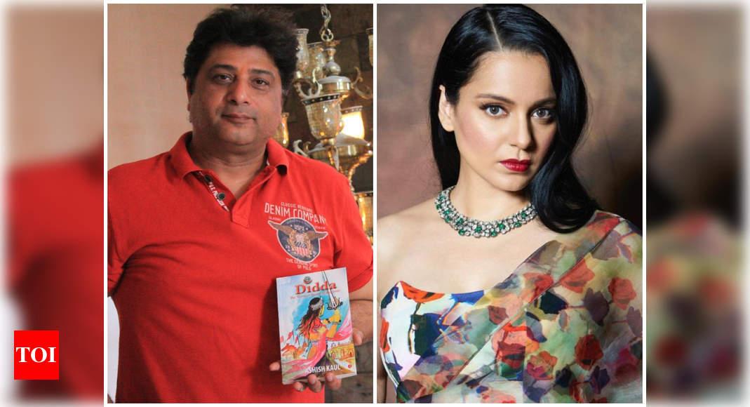 Exclusive! Didda-Kashmir Ki Yodha Rani author Ashish Kaul: Kangana Ranaut has blatantly violated my sole - Times of India