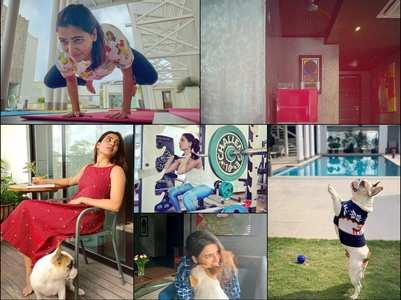 PICS : Lavish penthouse of Samantha & Naga