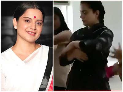 Kangana prepping for 'Thalaivi': Watch
