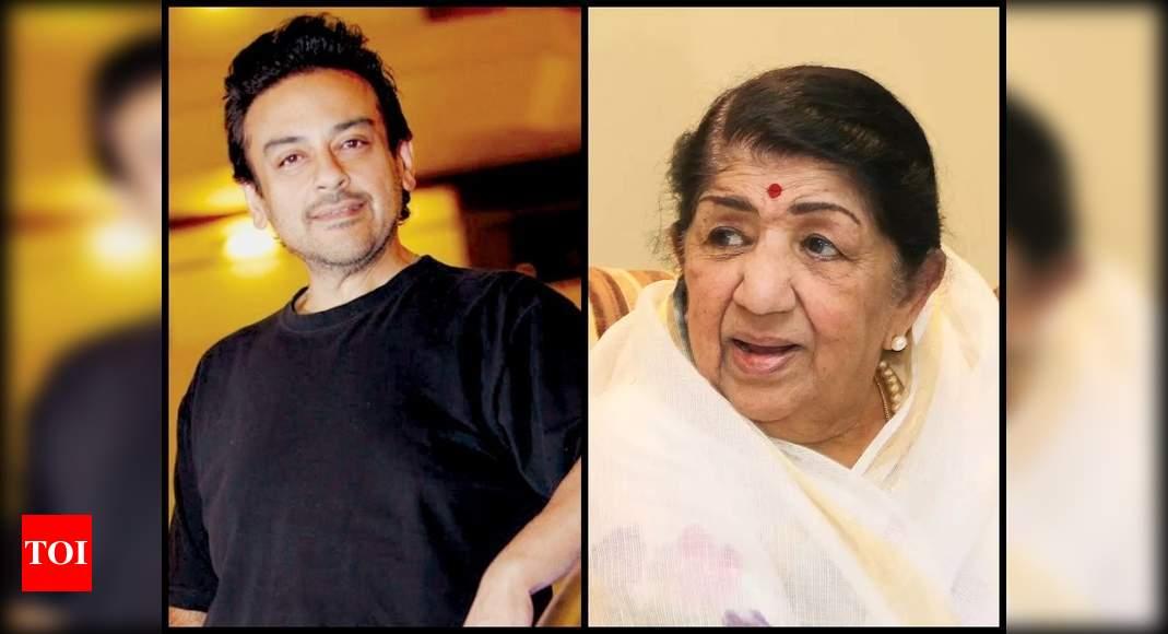 Adnan Sami hits back at a Twitter user who said Lata Mangeshkar doesn't have a good voice; says 'bandar k - Times of India
