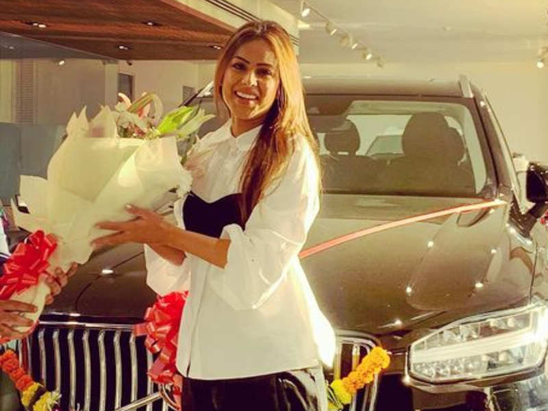 Naagin 4 fame Nia Sharma buys a grand luxury car; says 'You can't buy  happiness but you can buy cars' - Times of India
