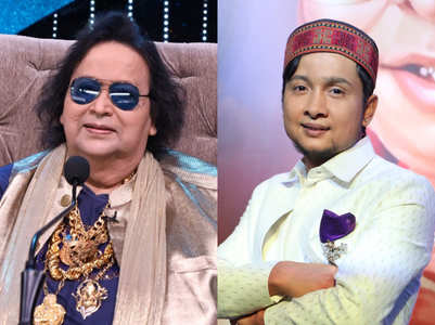 Indian Idol: Bappi Lahiri gifts gold chain