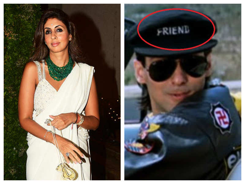 Shweta Bachchan reveals that she got the 'Friend' cap worn by Salman Khan in 'Maine Pyaar Kiya' and used to sleep with it under her pillow