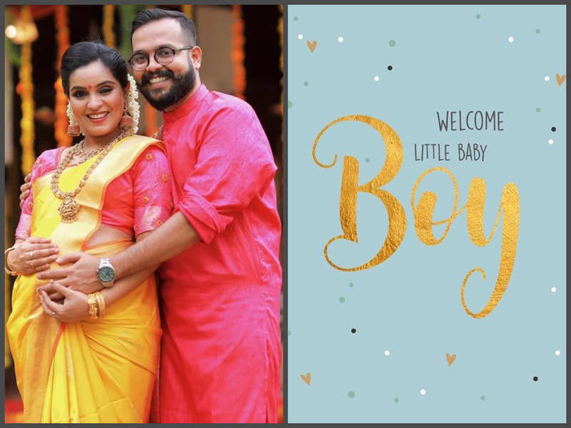 Star Singer fame Arun Gopan blessed with a baby boy