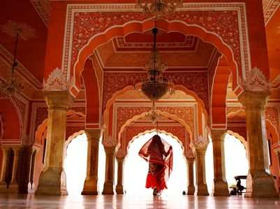 Exquisite royal palaces of India