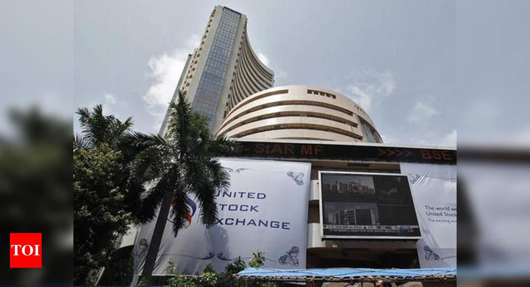 Sensex slips 549 points on profit booking; Nifty settles below 14,450