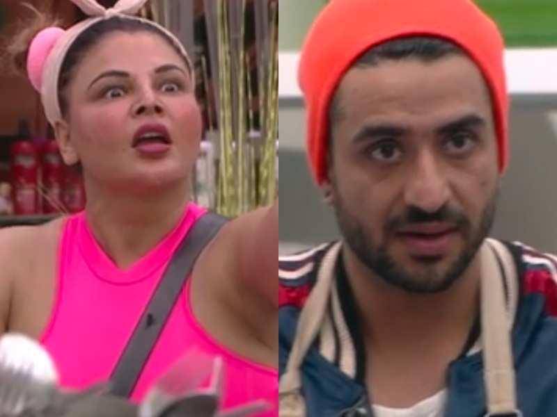 Bigg Boss 14: Aly Goni mocks Rakhi Sawant's invisible husband; she tells him, 'Tumhara love fake hai, mera nahi'